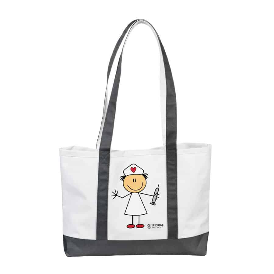 705, Large Tote Bag,  Tote Bag, Tote, Bag, Prestige Medical,  Stick Nurse